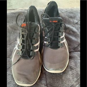 ASICS CrossFit training shoes, in good condition.